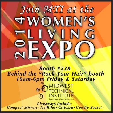 Reminder about the Women's Living Expo