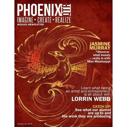 Front cover of the Phoenix quarterly.