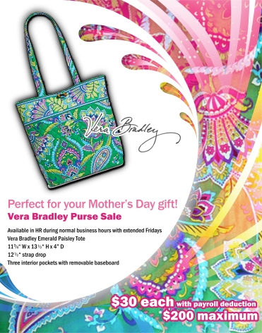 Vera Bradley Back of House poster